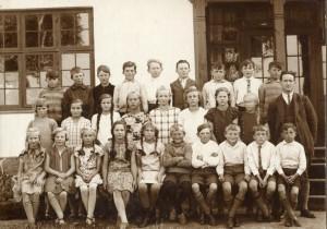 Dyrlev ny skole 1925 (B3130)